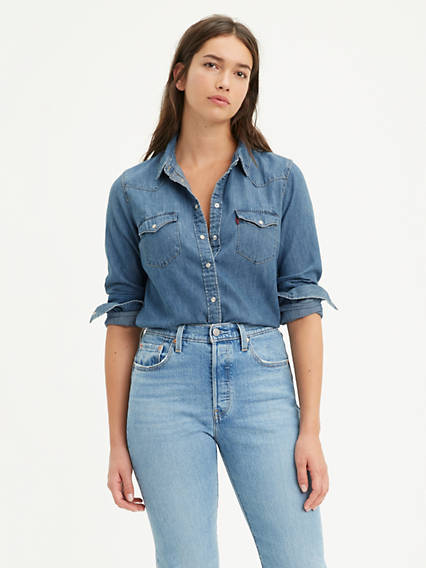 2c4768d9 Women's Shirts, Denim Blouses, Tank Tops & T-Shirts | Levi's® US