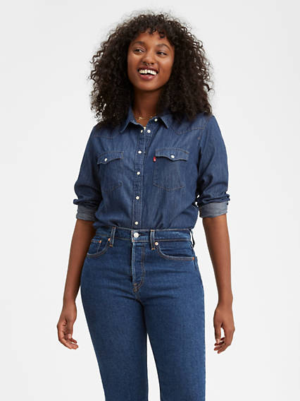 132f621c2 Western Shirts for Women - Shop Denim Shirts | Levi's® US