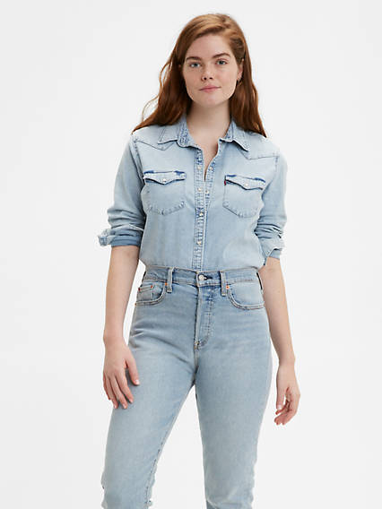 681ded72b90 Women's Shirts, Denim Blouses, Tank Tops & T-Shirts | Levi's® US