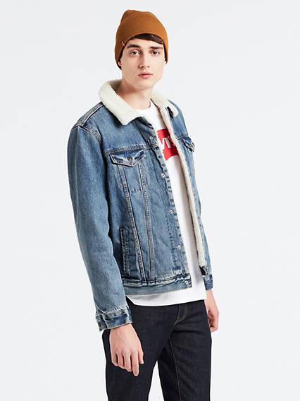 Levi's® x LFC Sherpa Trucker Jacket
