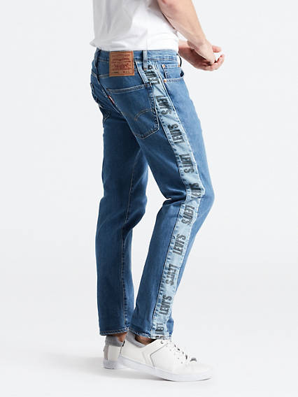 Hi-Ball Roll Logo Stripe Jeans