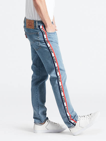 501� Taper Sports Stripe Jeans