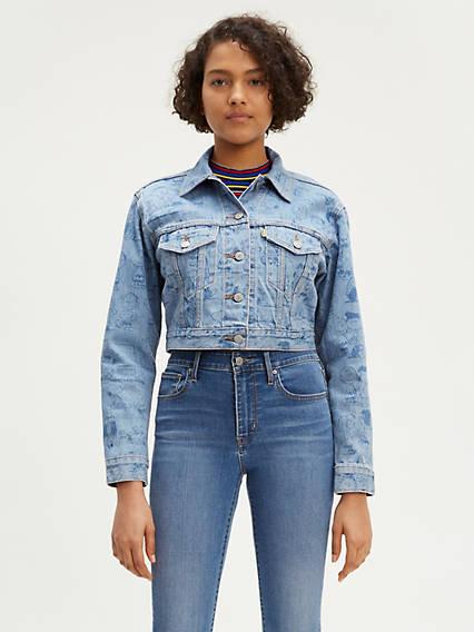 Levi's® x Peanuts Cropped Trucker Jacket