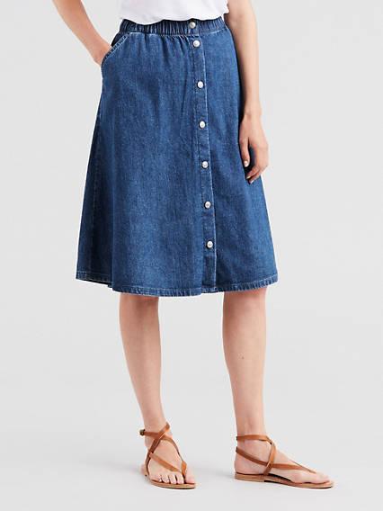 Lightweight Midi Skirt