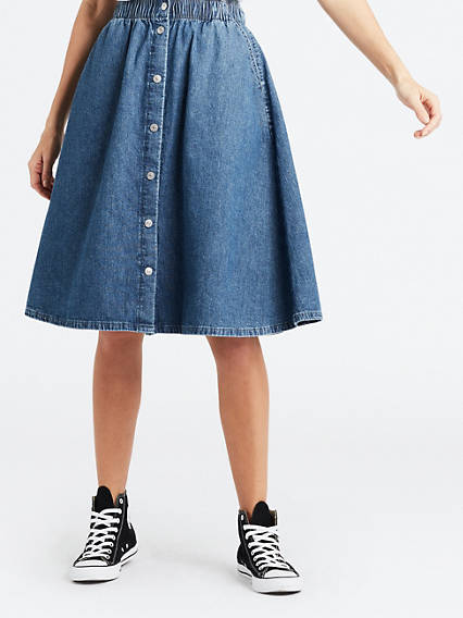 Lightweight Midi Skirt