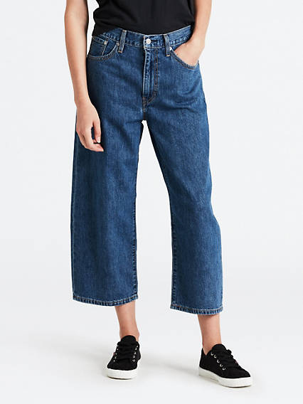 Baggy Cropped Jean