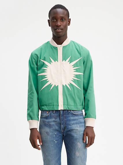 Levi's® Vintage Clothing Starburst Bomber Jacket