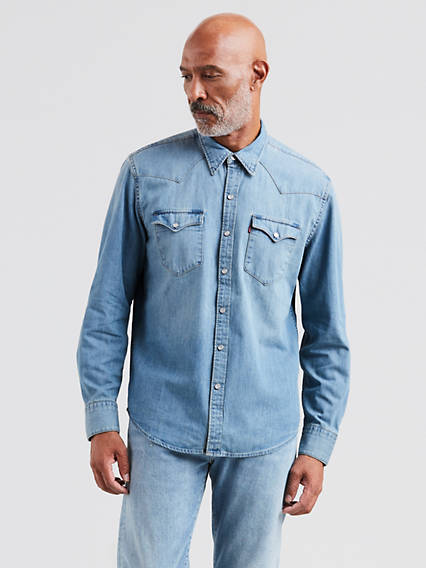 baf23e2fb Men's Shirts - Shop Cotton T-Shirts, Tank Tops, & Denim Shirts ...