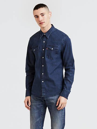 2c623585f16 Barstow Western Shirt - Medium Wash   Levi's® US