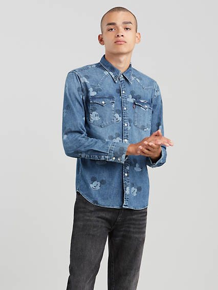 Levi's® x Disney Mickey Mouse Barstow Western Shirt