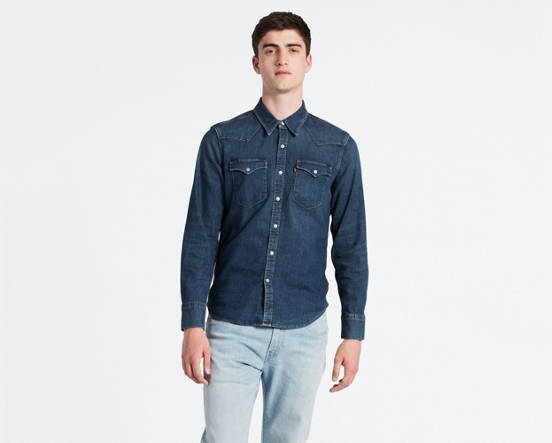 9b0aa5d2 Mouse over image for a closer look. Barstow Denim Shirt ...