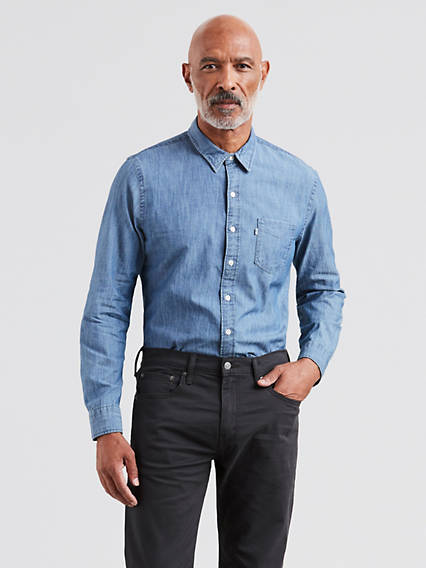 Men 39 s shirts shop men 39 s t shirts tank tops denim for Best mens dress shirts under 50