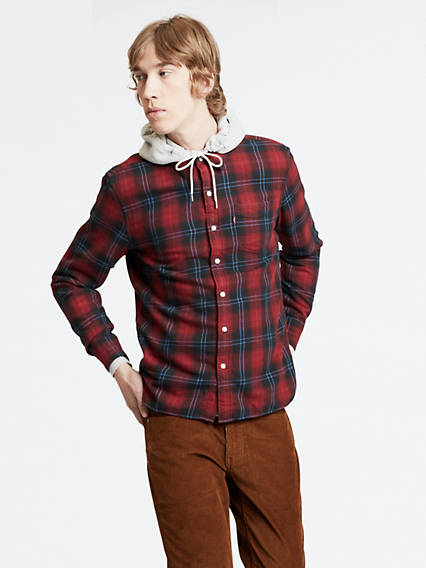 Sunset Pocket Shirt - Schwarz / Cummings Graphite | Bekleidung > Shirts | Schwarz|cummings graphite | Cotton | Levi's