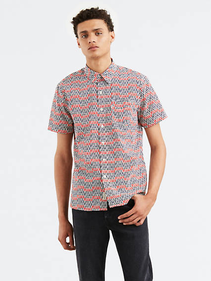 Sunset Pocket Short Sleeve Shirt