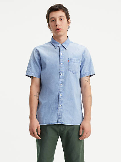 2e982880d95 Short Sleeve Sunset One Pocket Shirt