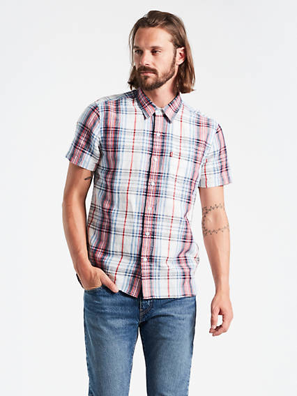 Short Sleeve Sunset Shirt