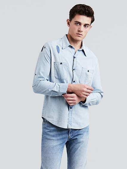 1960's Chambray Worker Shirt