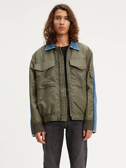 Levi's® Made & Crafted® Spliced Trucker Bomber