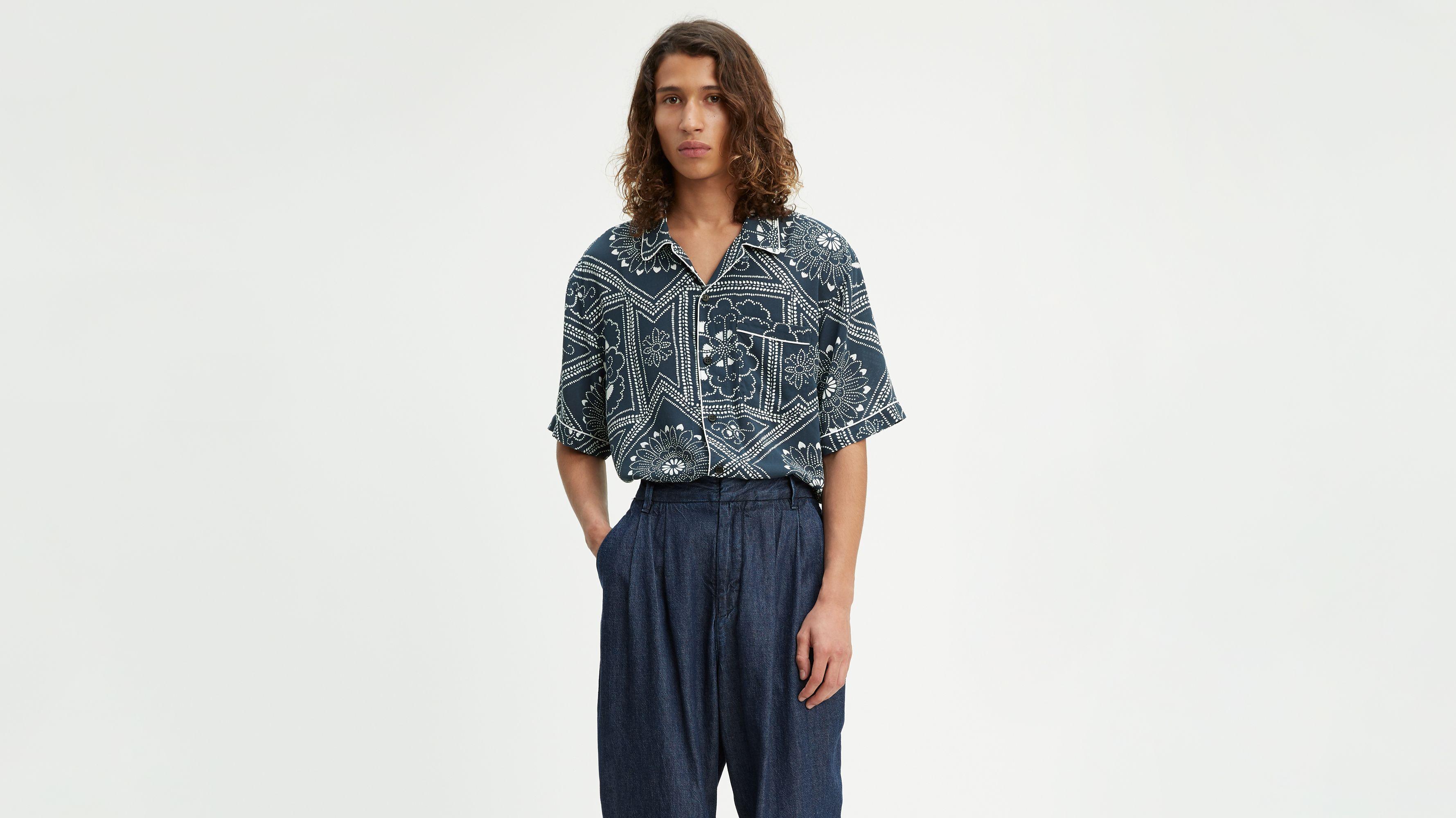 0d4e22ab Pajama Shirt - Blue | Levi's® US