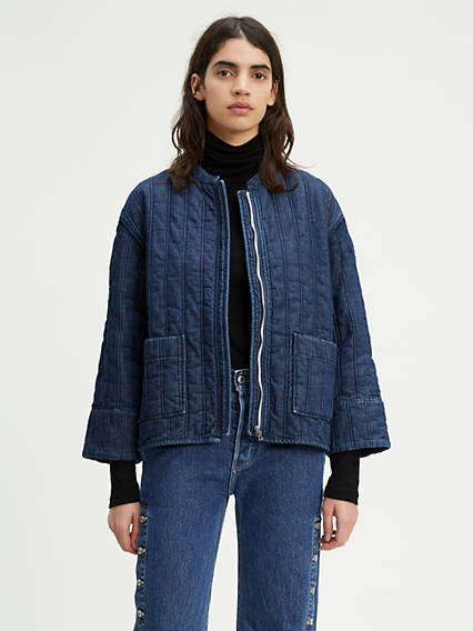 Levi's® Made & Crafted® Quilted Denim Jacket