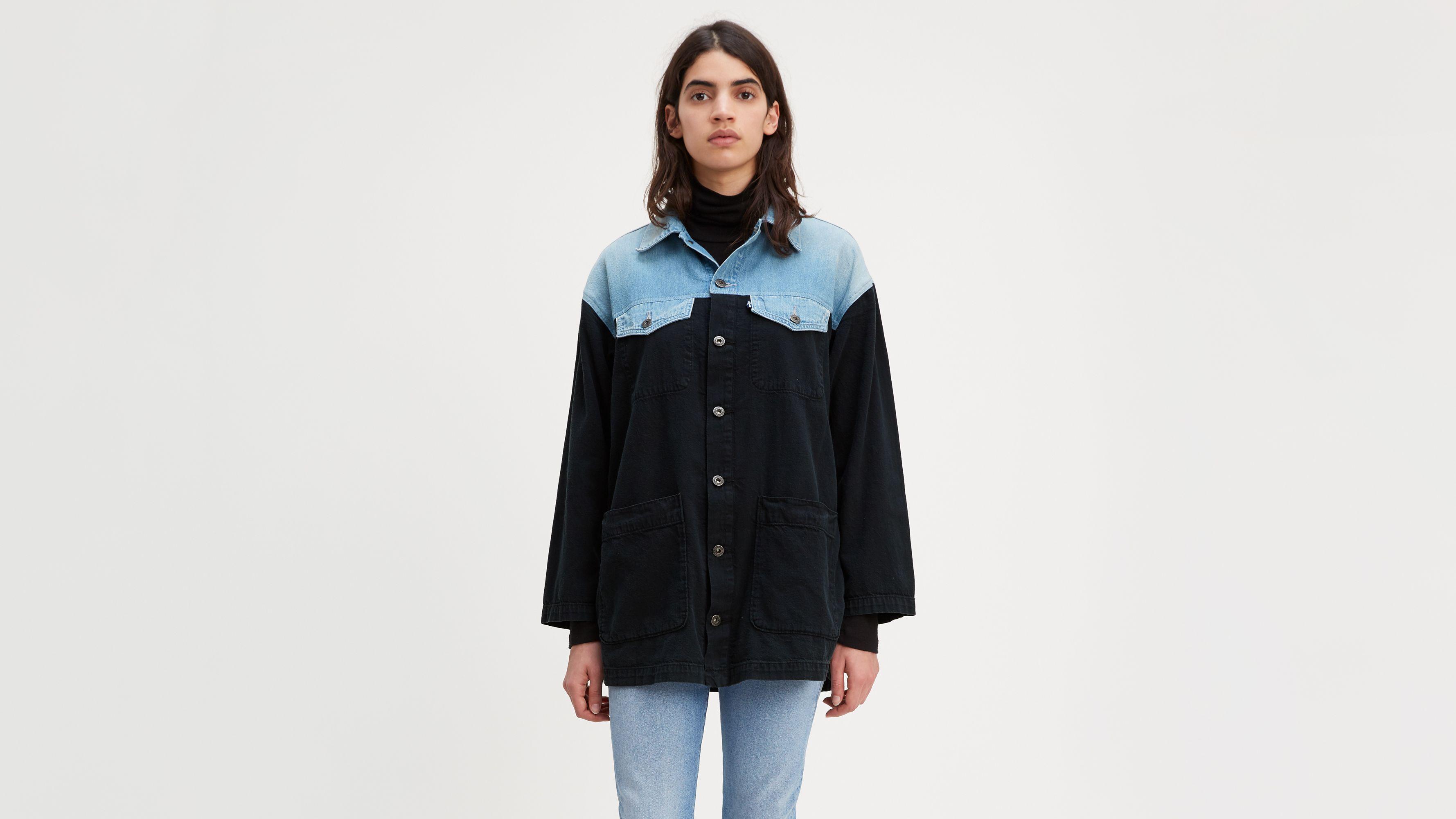 Jeans Sherpas Vestes Levi's® amp; Femme En Fr q7UPvf8P5H