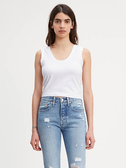 Levi's® Made & Crafted® Tie Tank Top