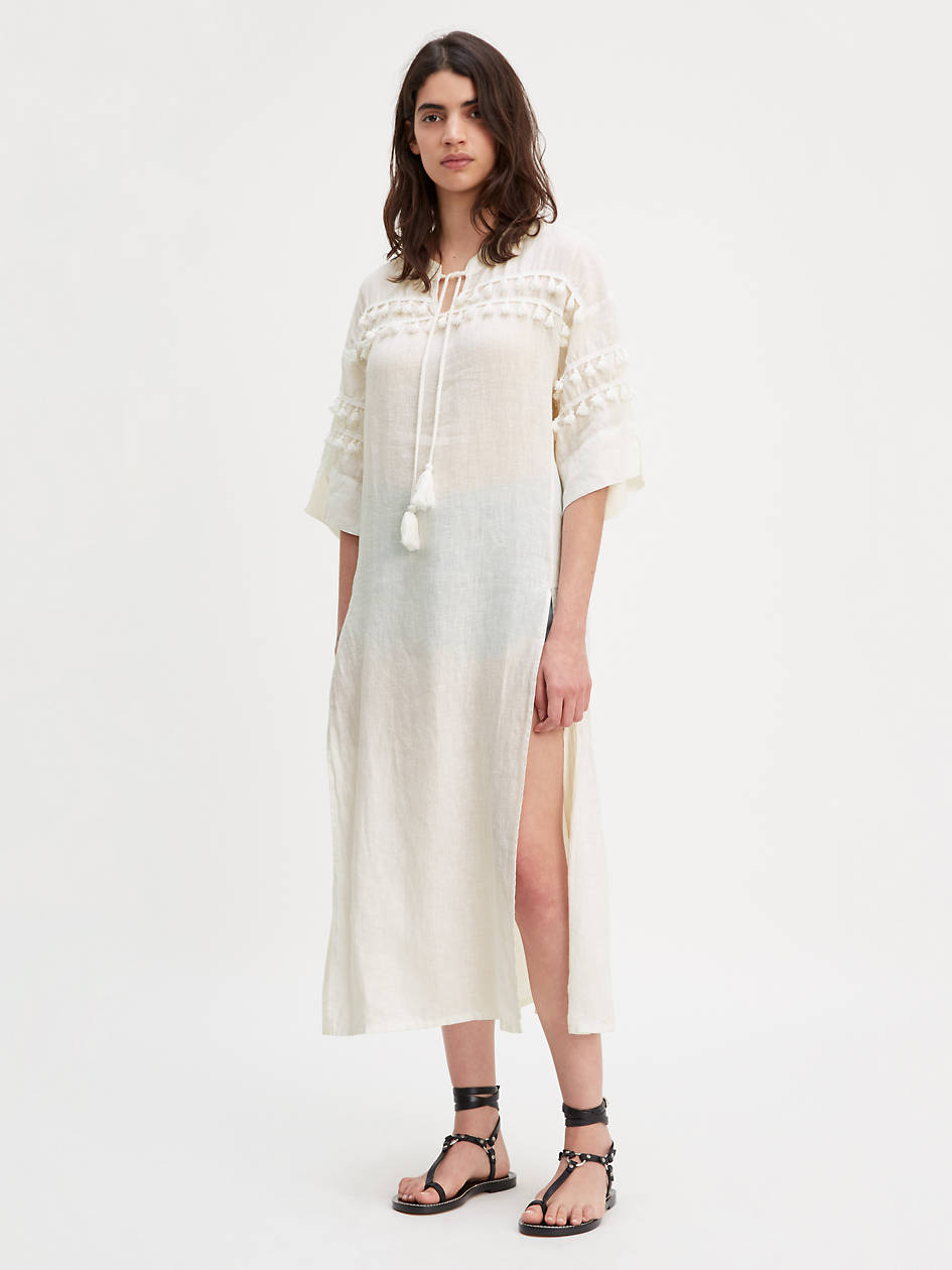 Tassel Dress - White | Levi's® US