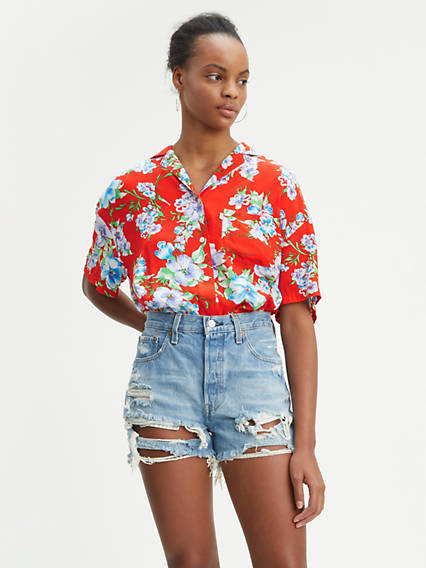 9dc521a44d7 Women's Shirts, Denim Blouses, Tank Tops & T-Shirts | Levi's® US