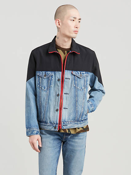 Unbasic Mockneck Trucker Jacket