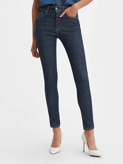721 Selvedge High Rise Skinny Jeans