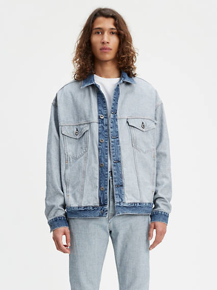 ced6fa000894b Palmer. Levi's® Made & Crafted® About Face Trucker Jacket
