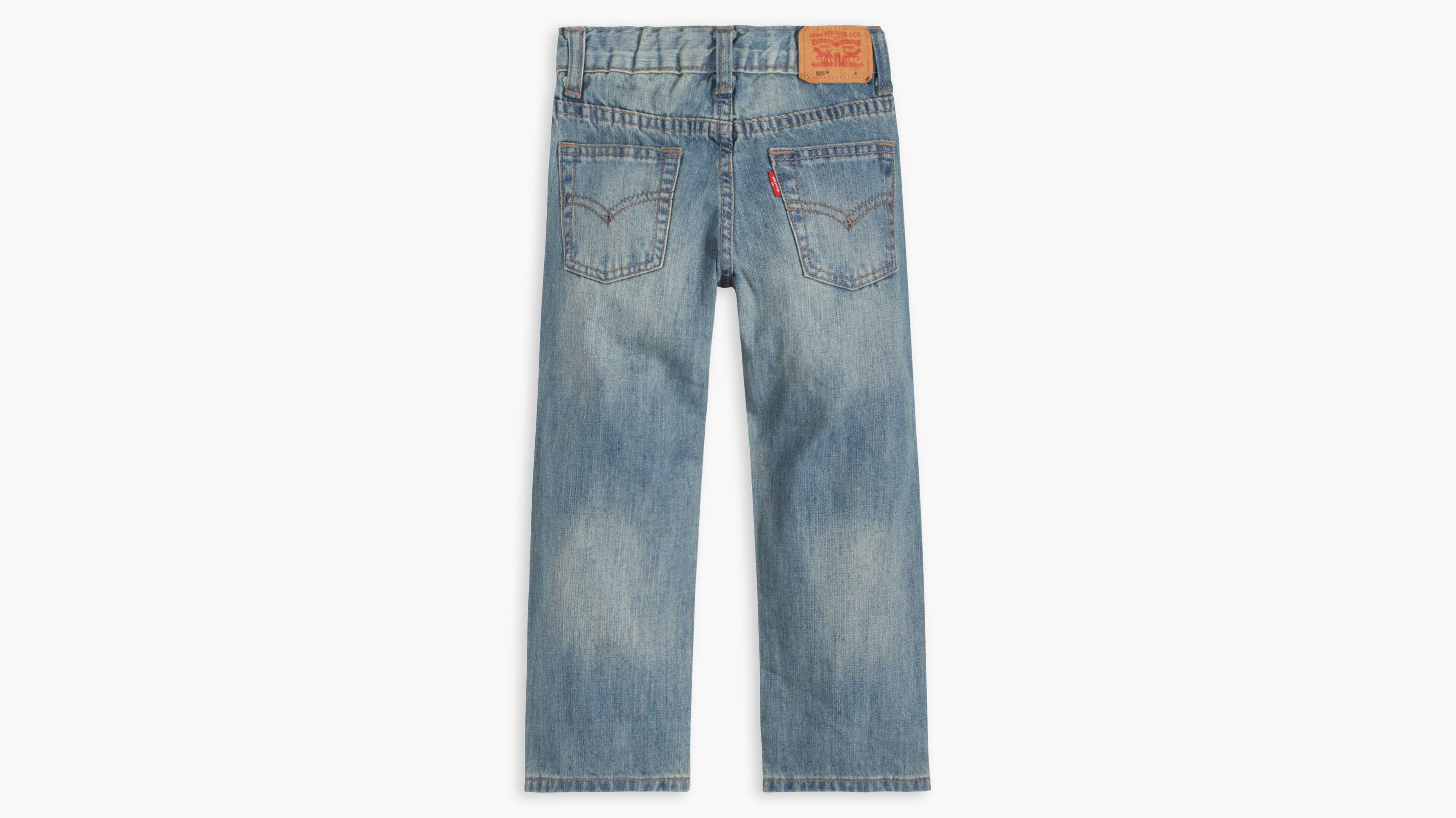 e6484b9bb71 Toddler Boys 2t-4t 505™ Regular Fit Jeans - Light Wash | Levi's® US