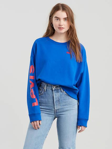 Graphic Weekend Crew Sweatshirt