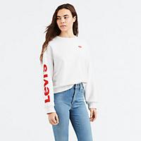 Levis.com deals on Levi's Logo Weekend Crewneck Sweatshirt
