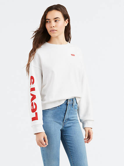 Levi's® Logo Weekend Crewneck Sweatshirt