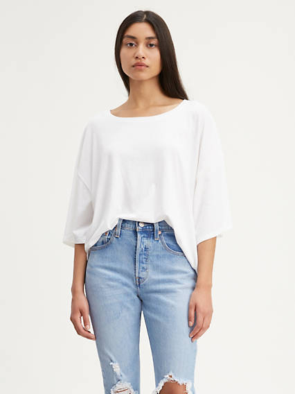 Relaxed Boxy Tee Shirt