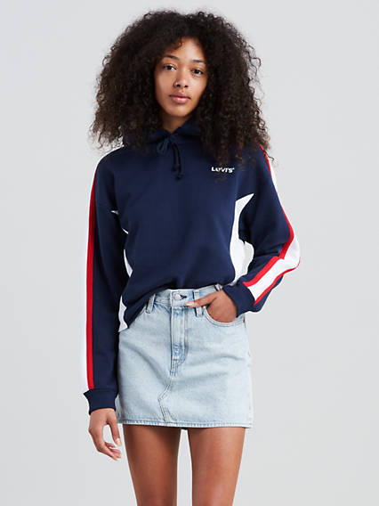Levi's® Extra Sport Short Hoodie