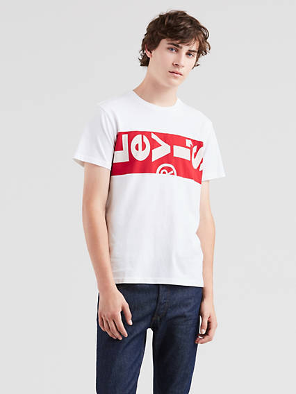Oversized L Tab Tee Shirt