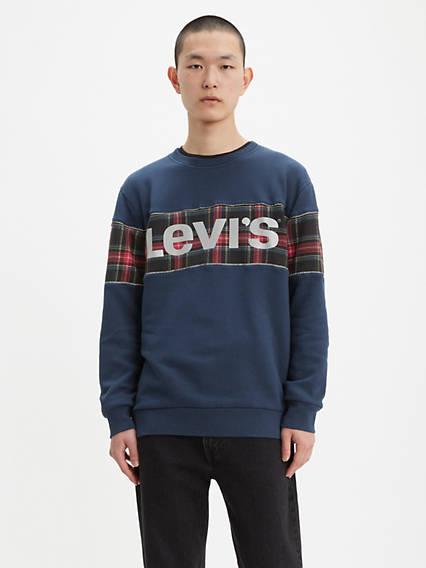 Reflective Crewneck Sweatshirt