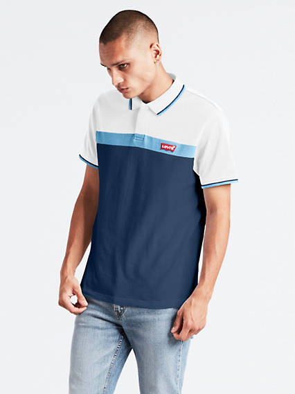 Short Sleeve Modern Logo Polo