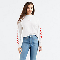 Levis.com deals on Levis Graphic Long Sleeve Baby Tee