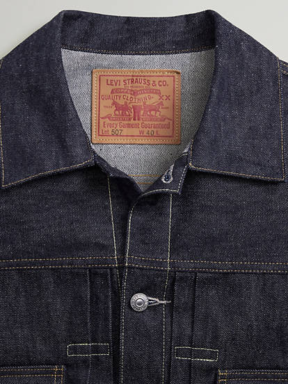 1953 Type 2 Jacket Dark Wash Levis Us
