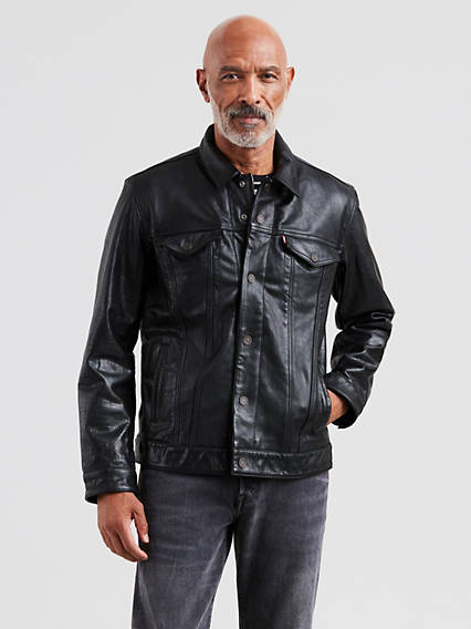 Leather Trucker Jacket