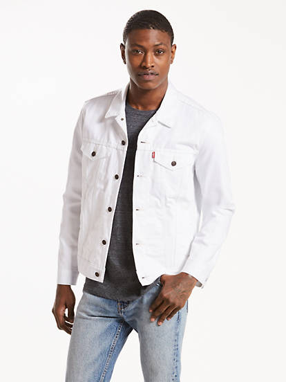 size 7 exquisite design 2018 shoes Trucker Jacket - White | Levi's® US