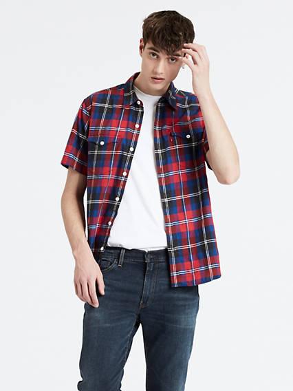 941c296a486a Men's Shirts - Shop Cotton T-Shirts, Tank Tops, & Denim Shirts ...