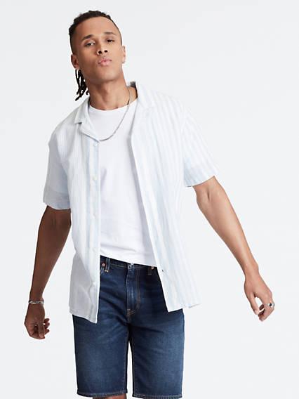 Cubano Shirt - Blau / Mayhew Skyway | Bekleidung > Shirts | Blau|mayhew skyway | Baumwolle | Levi's