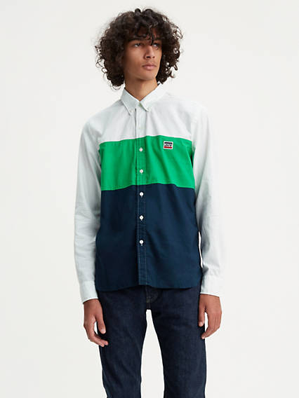 Color Block Pacific Shirt
