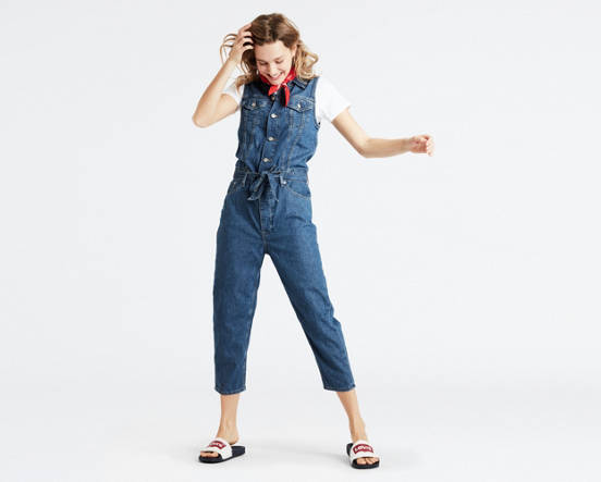 86a99a056e Mouse over image for a closer look. Cropped Taper Jumpsuit ...