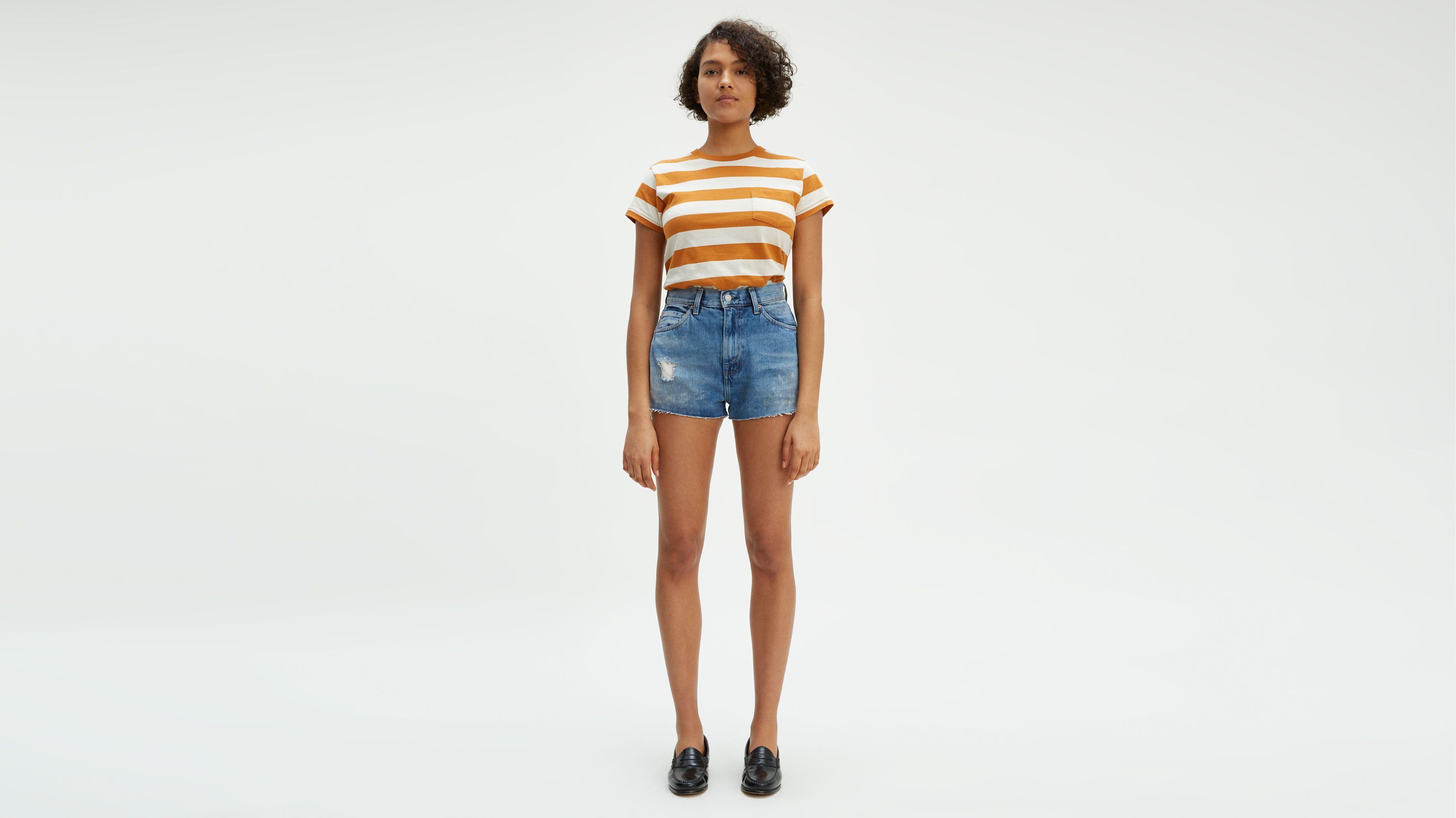 For WomenLevi's For WomenLevi's Denim Denim Uk Denim Shorts Uk For Shorts Shorts wvmn80NO