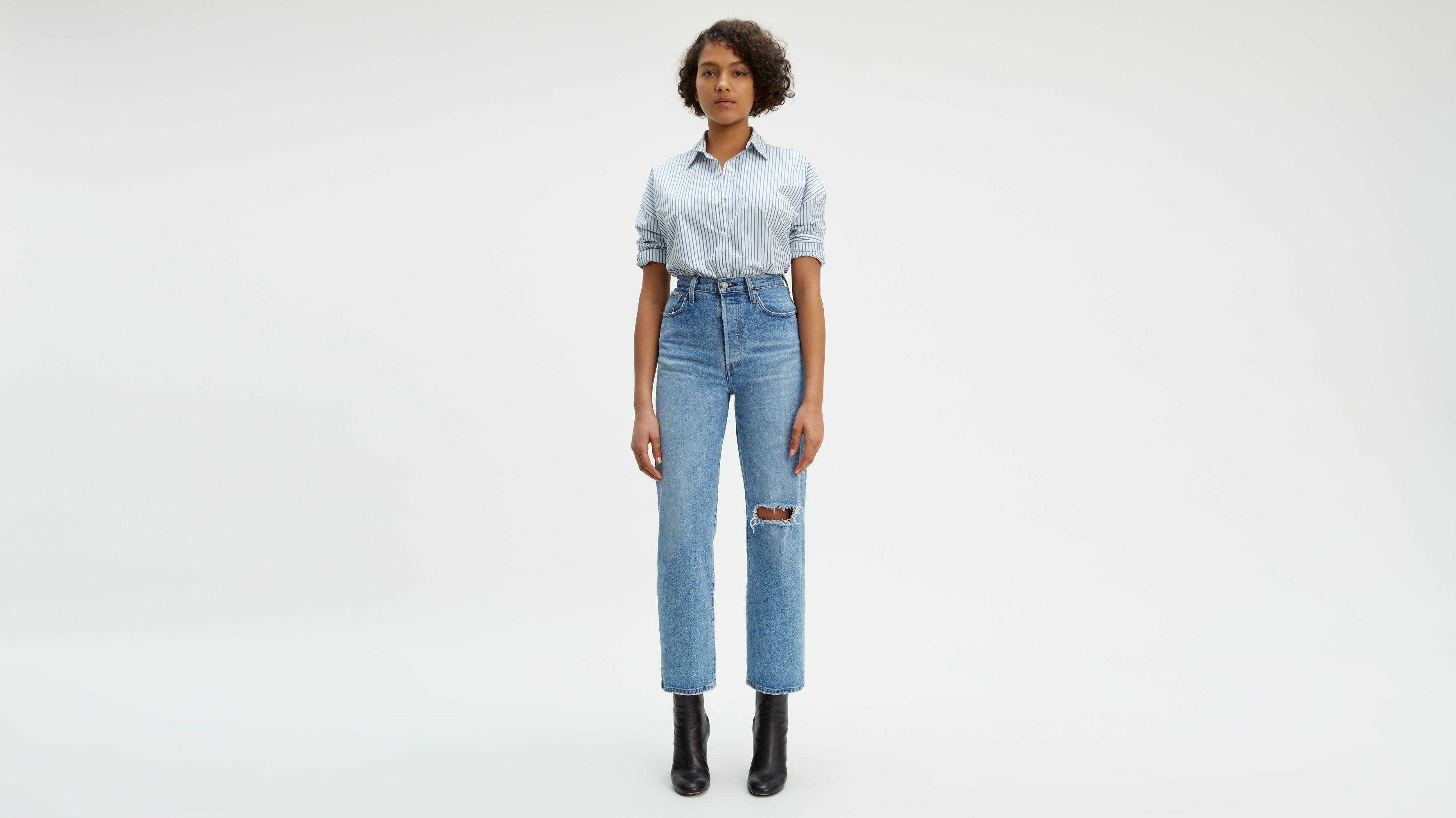 Fr Droite Jeans Femme Coupe Levi's® 0gwwaqIx5